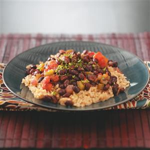 black-beans-with-brown-rice