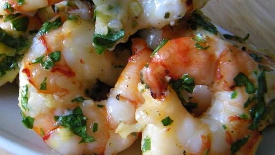 Simple Garlic Shrimp